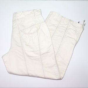 Pleasant Blue Willi's Linen Capri Pants Size 36